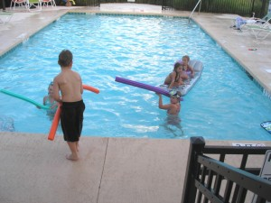 Kids Enjoy Pool